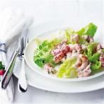 Salata de raci si cocktail de creveti